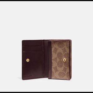 6fdd7086e6b9 Coach Bags | Business Card Case In Signature Canvas | Poshmark